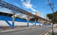 Avenida do Povo recebe nova cobertura